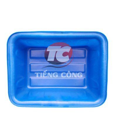 Thùng Nhựa Chữ Nhật Dung Tích 50L