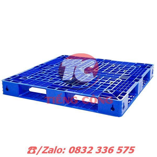 Pallet Nhựa Liền Khối Một Mặt PL481