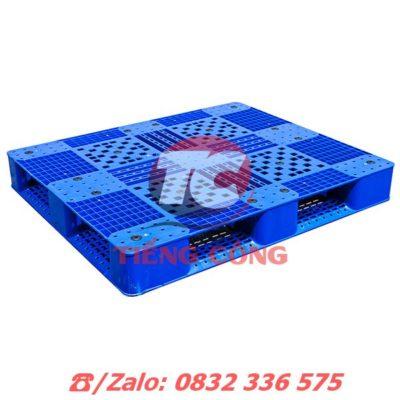 Pallet Nhựa Liền Khối 2 Mặt PL403